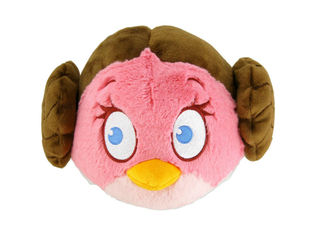 Angry Birds Star Wars Jättipehmo, Princess Leia 40 cm