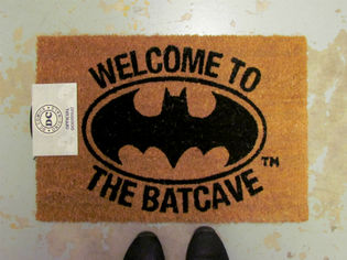 Welcome to the batcave - Batman kynnysmatto