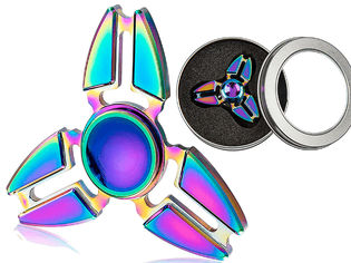 Metallinen crazy rainbow 1 spinneri