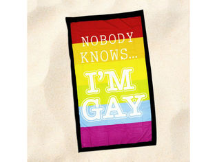 Nobody Knows I'm Gay -rantapyyhe